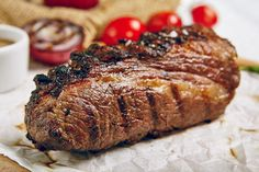 Tri-tip beef is low on cost, but big on flavor.When it comes to making the most of your grocery budget, the tri-tip has always been a reliable way to get the biggest flavor for your buck. Roast Beef Cooking Time, Cooking Pork Loin, Oven Roast Beef, Beef Loin, Sirloin Roast, How To Cook Beef, Steak Recipes Stove, Tri Tip Steak Recipes, Beef Tips