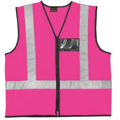 Pink Reflective Vest and Reflective Waistcoats Suppliers South Africa, Johannesburg