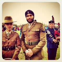 Awesome! Sikh & Gurkha soldiers of British Army.