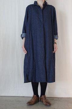 CASEY CASEY DENIM DRESS - Other Brand,ONE-PIECE - Veritecoeur(ヴェリテクール)