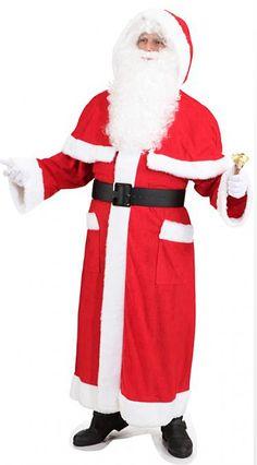 Joulupukin manttelitakki puuhkalla