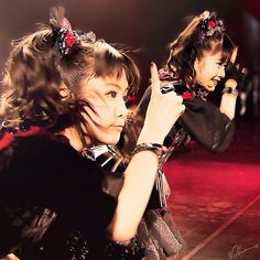 "Babymetal is a Japanese metal idol band. Their line-up consists of Suzuka Nakamoto as ""Su-metal"", Yui Mizuno as ""Yuimetal"", and Moa Kikuchi as ""Moametal"". The concept of the group is a fusion of the heavy metal and Japanese idol genres."