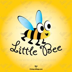 Bee Logo Templates. Logo Store - Logo Stock. Buy High quality logo design templates at low prices. Children, Family, Kids logo design. Buy Now! >>