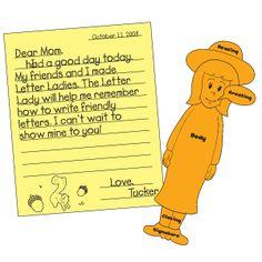 57 Best Friendly Letter Images Handwriting Ideas Teaching Cursive