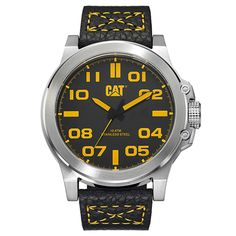 20% DE DESCUENTO EN CAT WATCHES Disfruta de un 20% de descuento en Cat watches, relojes muy masculinos y con mucho estilo. En la foto mostramos un modelo en caja de acero, correa de piel y sumergible 100 metros, disponible en http://www.todo-relojes.com/detalle.asp?codigo=28288 por 103€ #ofertasrelojes #CatWatches #todorelojes