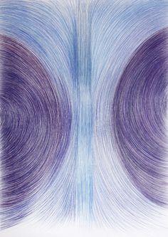 "Saatchi Art Artist Cintia Garcia; Drawing, ""Simetría"" #art"