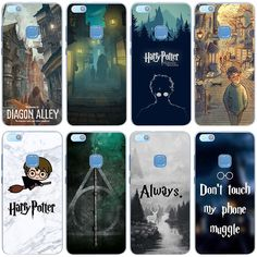 53fbb98e04a 857X Harry Potter Welcome to Diagon Cover Case for Huawei P10 P9 Lite Plus  P8 Lite