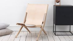 Leather perfection - Saxe easy chair I Lassen - Fred International