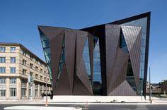 World Maritime University by Terroir and Kim Utzon Arkitekter. Photo © Torben Eskerod. #wanawards #Malmo #façade #architecture