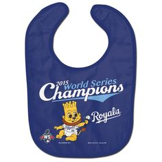 World Series Champions Kansas City Royals All Pro Baby Bib  www.shopmosports.com