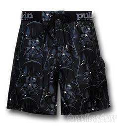 Star Wars Vader Pull In Swim Trunks