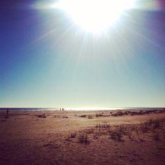 Perfect sun on the beach