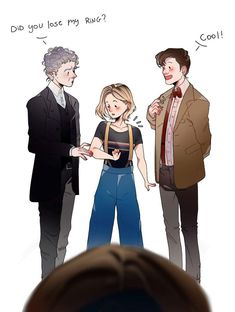We never learned the story behind the ring<<< it was capaldi's wedding ring, he never takes it off Doctor Who Fan Art, I Am The Doctor, Doctor Who Ring, 13th Doctor, Eleventh Doctor, Star Trek, Fandoms, Fanart, Tardis