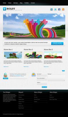 Free Drupal 7 Themes - Best of 2012   Design Inspiration