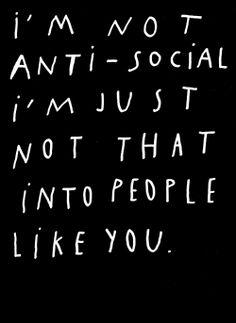 nevver: Anti-social