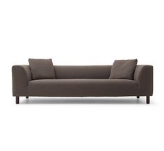 Two Seat Sofa Interlude By Marco Zanuso For Poltrona Frau In Leather