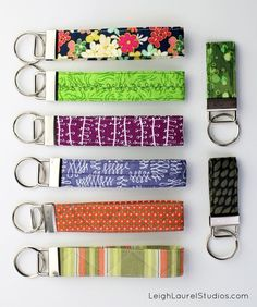 Tutorial: Quilted Key Fob / Wristlet