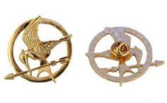 The Hunger Games Mockinjay Birds Bronze Brooch