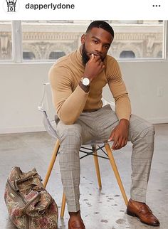 Mens winter fashion - men's style trends you should undoubtedly try 24 – Mens winter fashion Mode Masculine, Mens Fashion Suits, Fashion Outfits, Black Men Casual Fashion, Men's Outfits, Business Casual Black Men, Black Men Street Fashion, Business Professional, Fashion Edgy