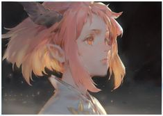 Doodle by Krenz Cushart on ArtStation. Art And Illustration, Character Illustration, Fantasy Kunst, Fantasy Art, Anime Art Girl, Manga Art, Pretty Art, Cute Art, Art Sketches