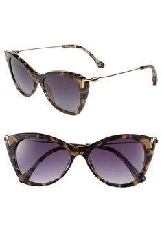 C is for cat-eye sunglasses.