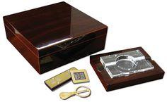 Chamberlain 75 Cigar Humidor Gift Sets  #cigar #cigars #cigarsmokers #puffpuffpewpew #cigarlifestyle #entrepreneur #luxurylife #scotch #nowsmoking #humidor