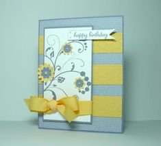 A Flourished Wisteria Birthday by dahlia19 - Cards and Paper Crafts at Splitcoaststampers