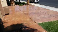 Hand texture driveway