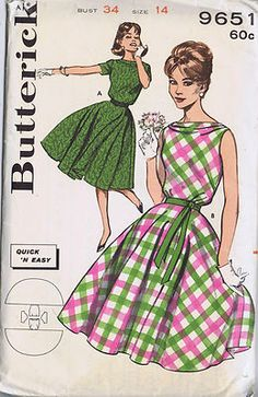 Butterick 9651 Dress