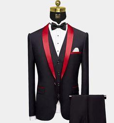 Black Tuxedo Jacket, Tuxedo Suit, Tuxedo For Men, Custom Tuxedo, Conservative Fashion, Red Shawl, Slim Fit Jackets, Black Suits, Shirt Shop