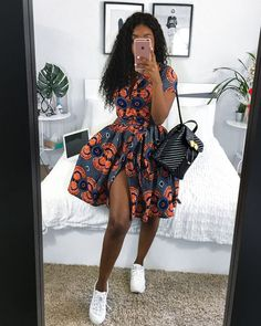 Exquisite Ankara Short Gowns - NALOADED Hello,Today we bring to you 'Exquisite Ankara Short Gowns' from your favorite fashion community, The Ankara Fashion Community. These short gowns can make your outings fabulous. African Print Dresses, African Print Fashion, Africa Fashion, African Fashion Dresses, African Attire, African Wear, Ethnic Fashion, African Women, African Style