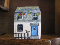 Seagull Cottage by jamjarart on Etsy, $12.00