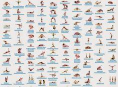 84 classic yoga asanas pdf - Google Search