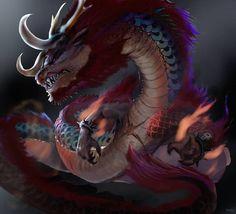 Kaido of the Hundred Beasts by xraypr on DeviantArt Kaidou One Piece, One Piece Comic, One Piece Images, One Piece Anime, Dragons, Beast Creature, Anime Tattoos, Roronoa Zoro, The Hundreds