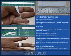 Ring Size Calculator | 9 Star Jewelry