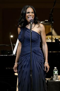 Audra McDonald. Every note she sings is orgasmic, right @Jess Liu Agnor? Such a fabulous singer. Totes not ashamed of my girl crush on Audra.