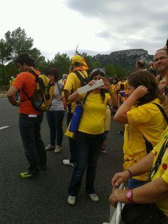 Preparant la via catalana