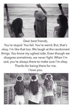 Three best friends quotes, friends are like, crazy Three Best Friends Quotes, 3 Best Friends, Dear Best Friend, Friends Image, Friends Are Like, Best Friend Goals, Best Friends Forever, Crazy Friends, Three Friends