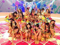 SKE48 Sansei kawaii! music station