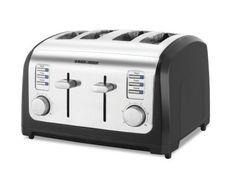 Black & Decker T4030 4-Slice Toaster, Stainless Steel - http://sleepychef.com/black-decker-t4030-4-slice-toaster-stainless-steel/