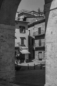 Sarteano/ Italy - photograph by I. M. Ganescu