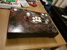 First dIY post - Multi-console arcade stick made from an old box Check out the full project http://ift.tt/2kqBUR2 Don't Forget to Like Comment and Share! - http://ift.tt/1HQJd81