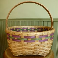 Easter Basket | Free Weaving Pattern | Joanna's Collections - Country Home Basketry