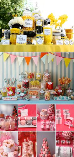 Candy in Weddings - Candy Buffet Dessert Table Old Fashioned Wedding, Old Fashioned Candy, Bar A Bonbon, Candy Bar Wedding, Wedding Favors, Buffet Wedding, Wedding Ideas, Wedding Sweets, Wedding Inspiration