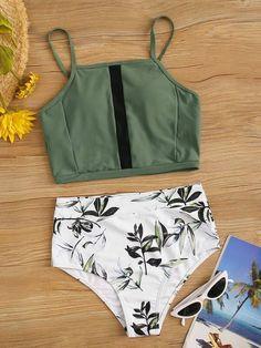 2020 Women Swimsuits Bikini Plus Size One Piece Bathing Suits Transparent Bikini Best Pouch Underwear Zipper Swimsuit Push Up Bikini, Bikini Set, Bikini Swimsuit, Camo Swimsuit, Beachwear For Women, Women Swimsuits, Swimsuits For Teens, Lands End, Victoria Secret Swim