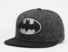 Batman Character Tweed 59Fifty Fitted Baseball Cap by DC COMICS x NEW ERA