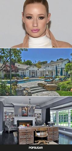 Pin for Later: Iggy Azalea Just Snagged Selena Gomez's SoCal Mansion