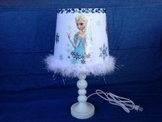 Disney Frozen Elsa and Anna Table Lamp