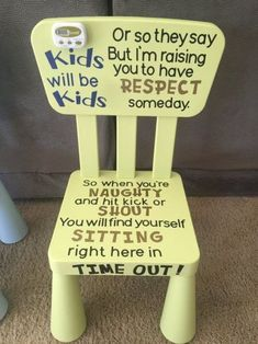 Create a timeout chair! We love this timeout chair with a timer. It lets your child know when they can get up! Toddler Tips and Tricks – Hacks for New and Old Moms on Frugal Coupon Living.