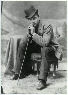 Very handsome Victorian gentleman